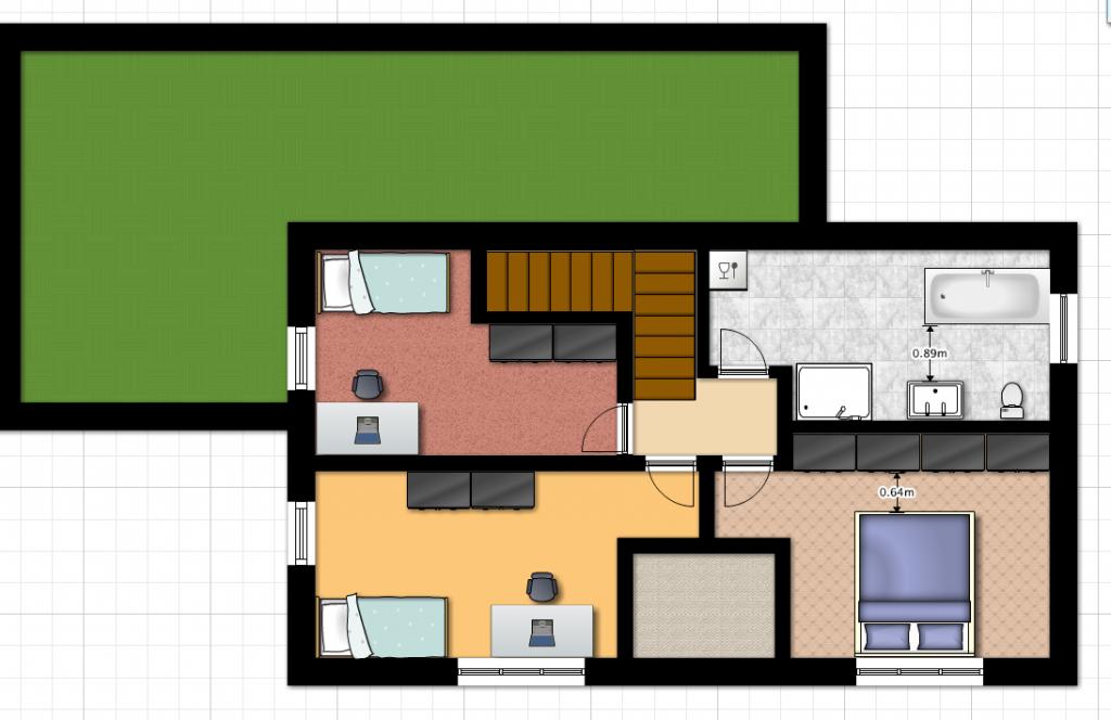 Dům alfa v 1.03 - podkroví