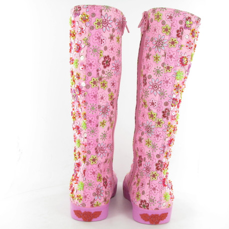 LELLI-KELLY-LK6571-LACE-KNEE-BOOT-PINK4