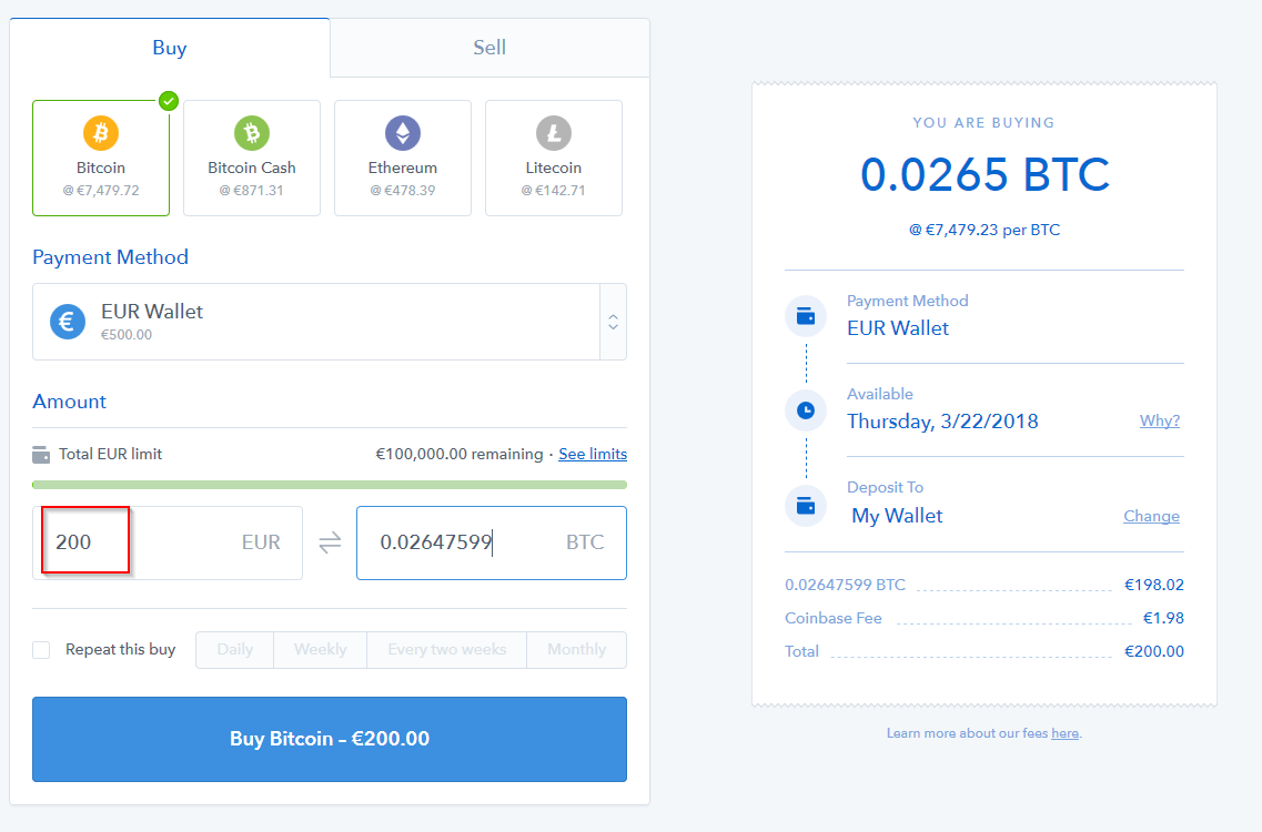 Coinbase – Scambia bitcoin su App Store
